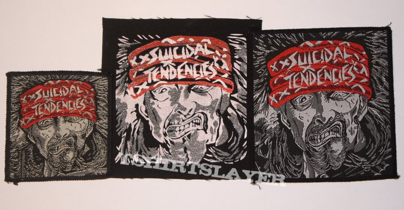 Suicidal Tendencies - Join the Army Woven and DIY patches