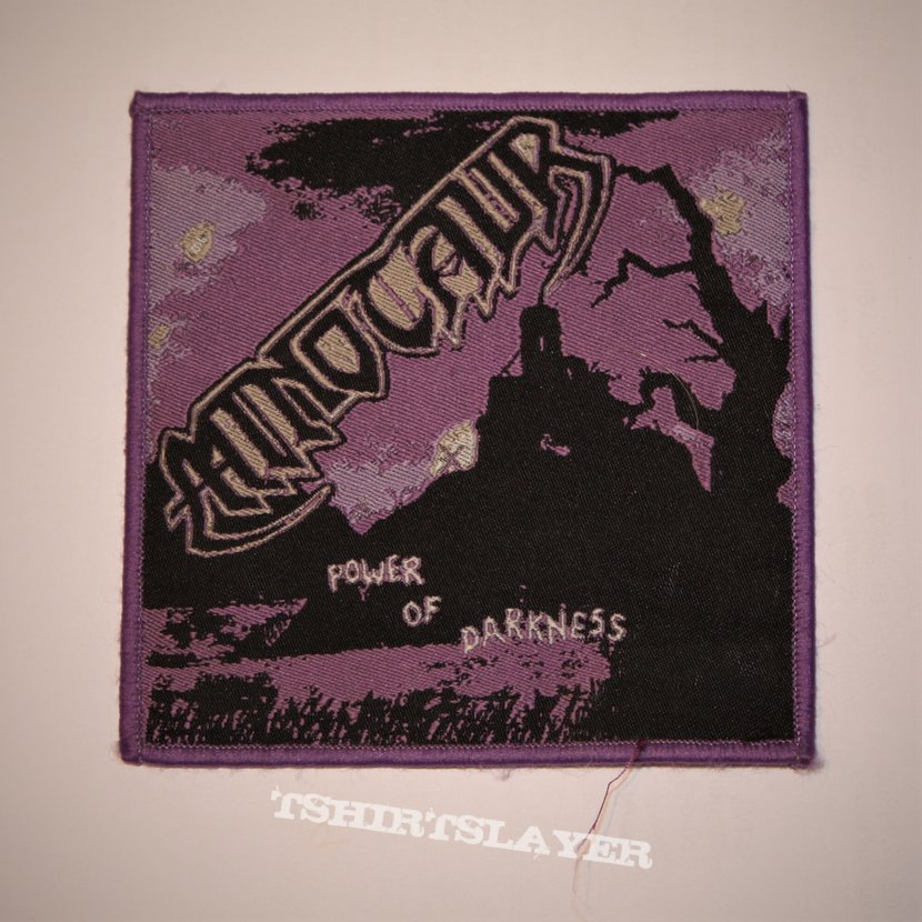 Minotaur - Power Of Darkness Woven patch
