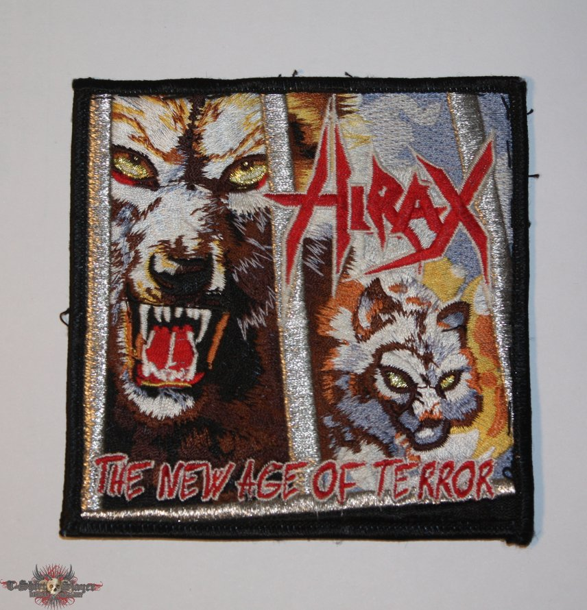 Hirax - The New Age of Terror patch
