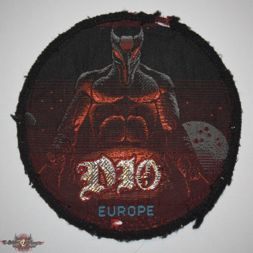 Dio - Europe Woven patch