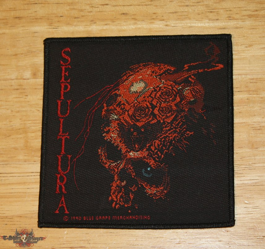 Sepultura - Beneath the Remains Woven patch