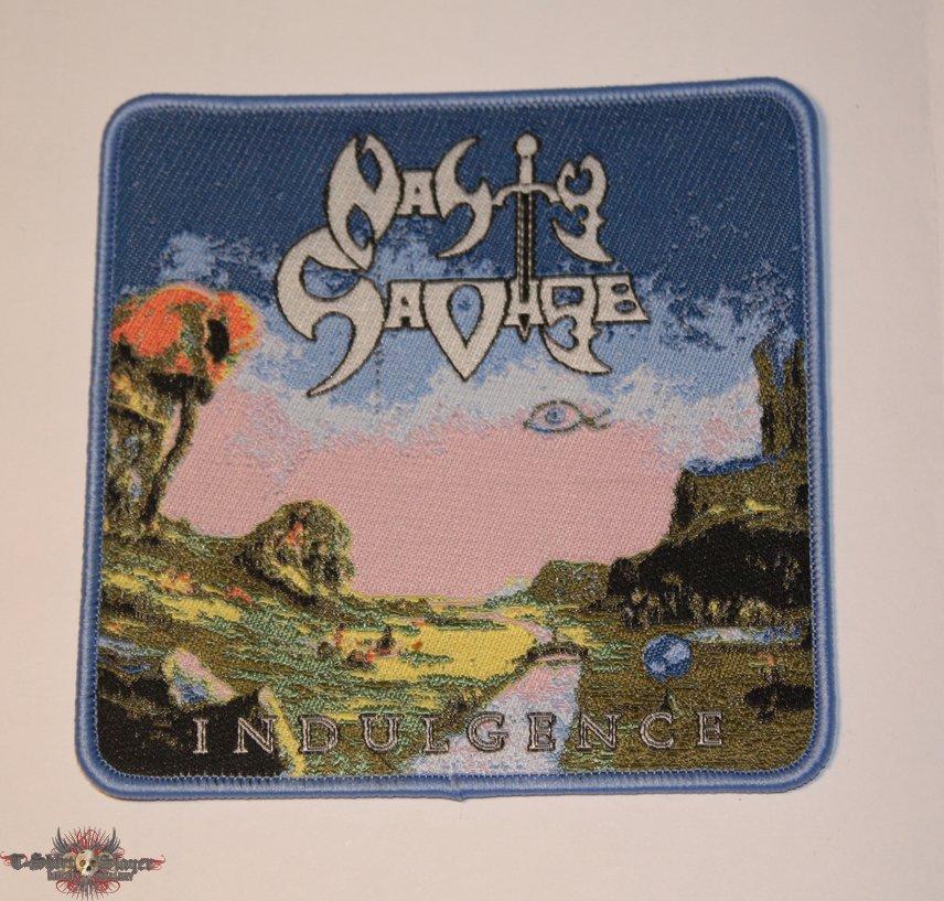 Nasty Savage - Indulgence Woven patch