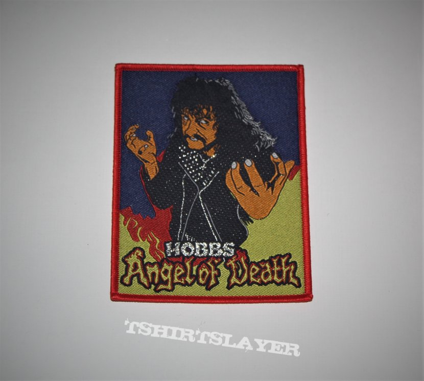 Hobbs Angel of Death - Woven patch