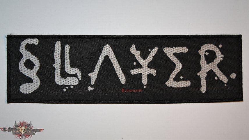 Slayer  - Logo strip woven patch