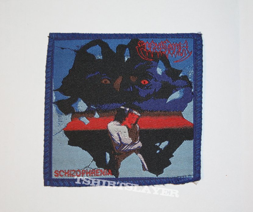 Sepultura - Schizophrenia Woven patch