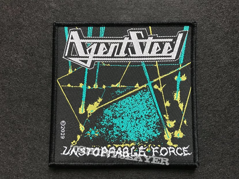 Agent Steel - Unstoppable Force Official woven patch