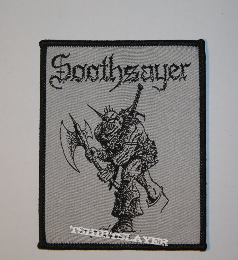 Soothsayer - To Be a Real Terrorist Woven patch