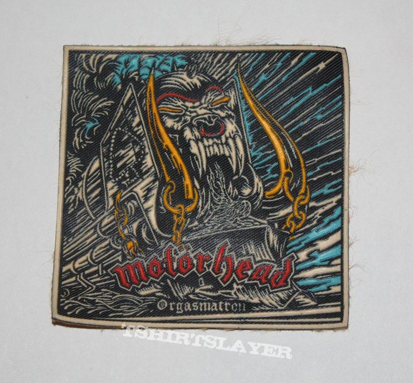 Motörhead - Orgasmatron Rubber patch