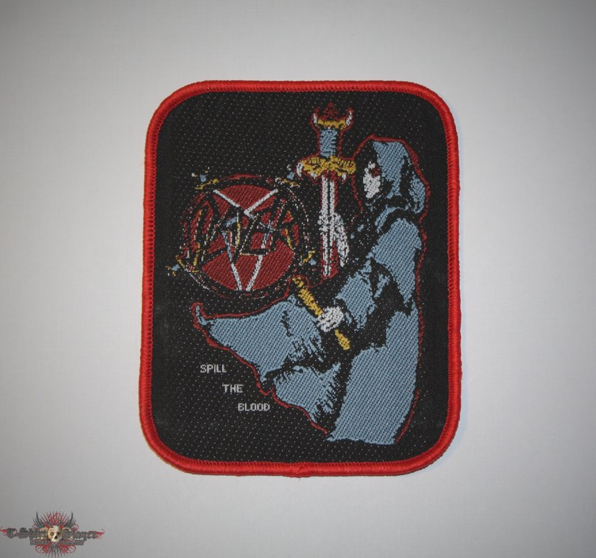Slayer - Spill the Blood Woven patch