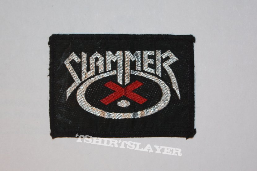 Slammer -  Woven logo patch