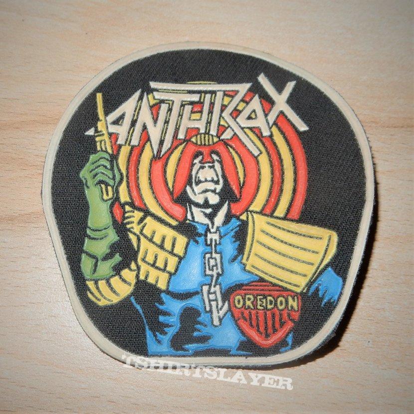 Anthrax - Judge Dredd Rubber patch