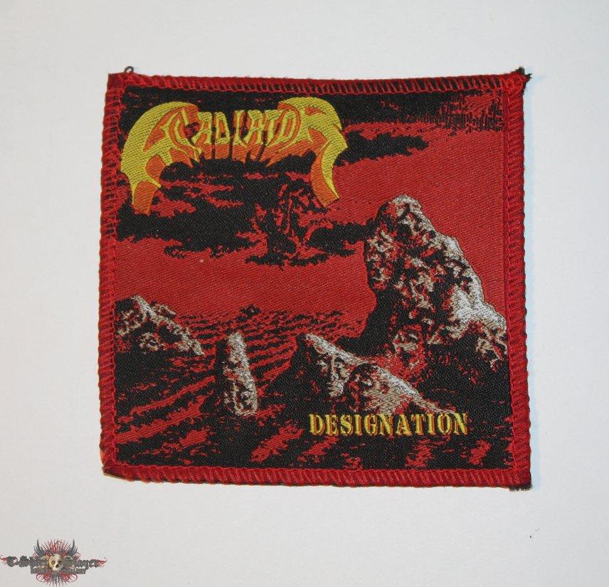 Gladiator - Designation woven patch
