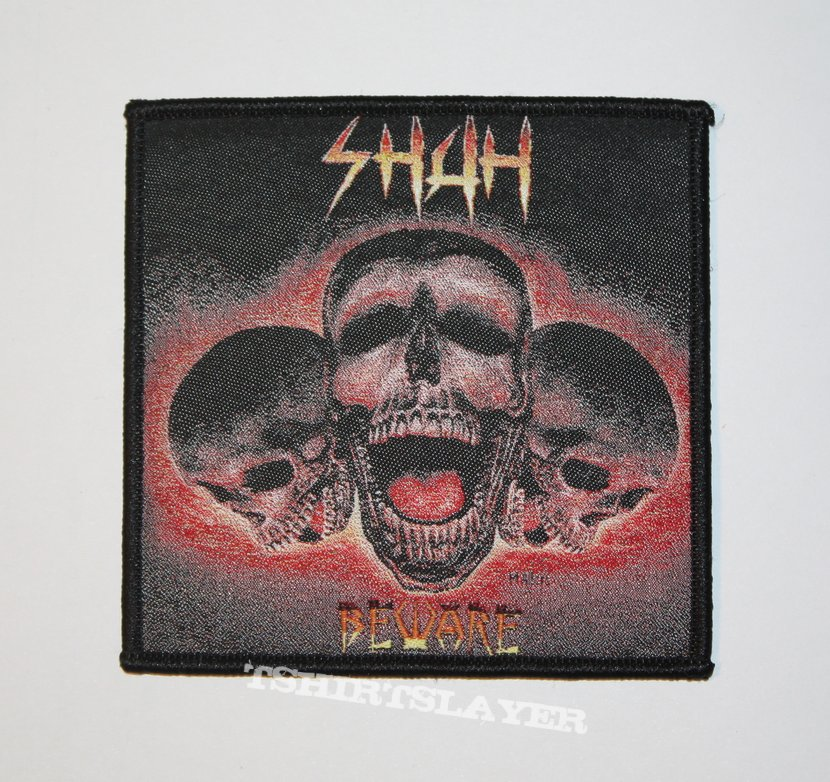 Shah - Beware Woven patch