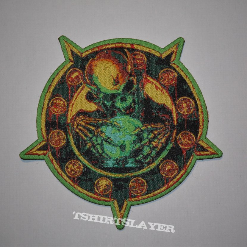 Overkill - Horrorscope Woven patch