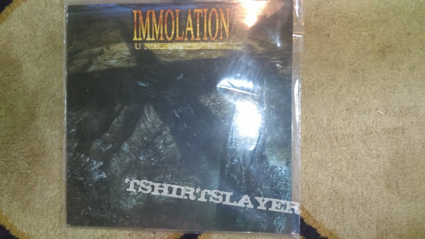 Immolation-Unholy Cult Numbered LP