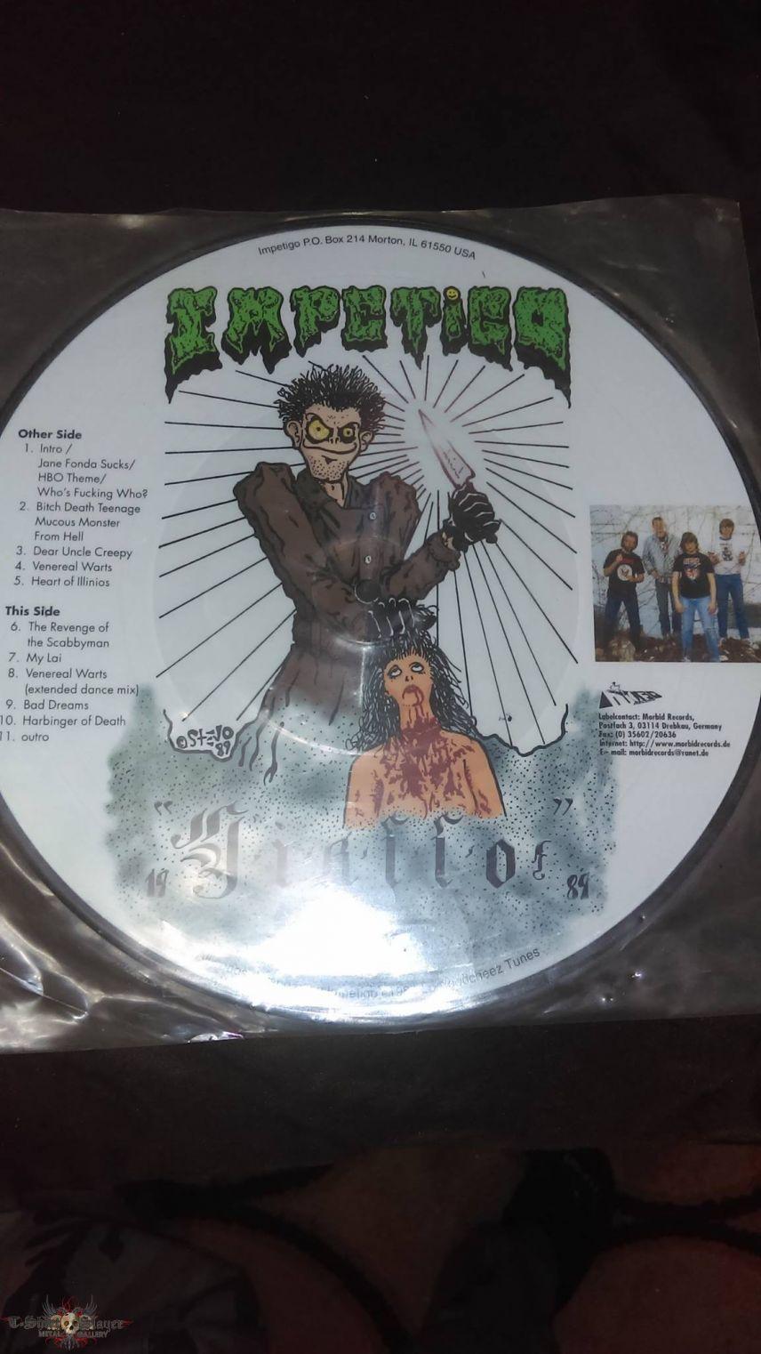 "Impetigo-Giallo 10"" Picture Disc"