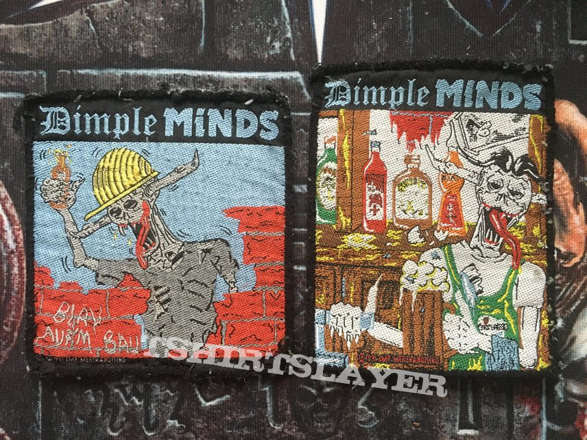Dimple Minds patches with Amaretto
