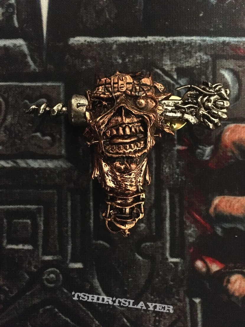 Iron Maiden - Can I Play With Madness Pin