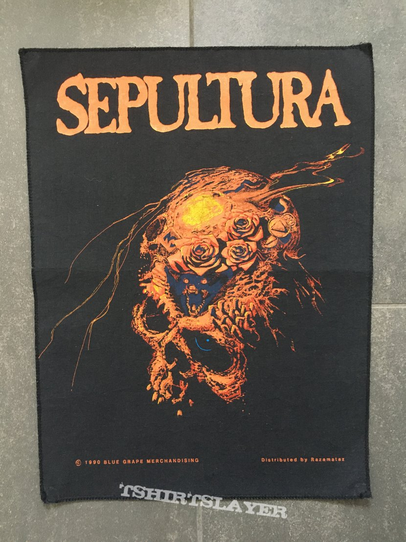 Sepultura - Beneath The Remains Backpatch