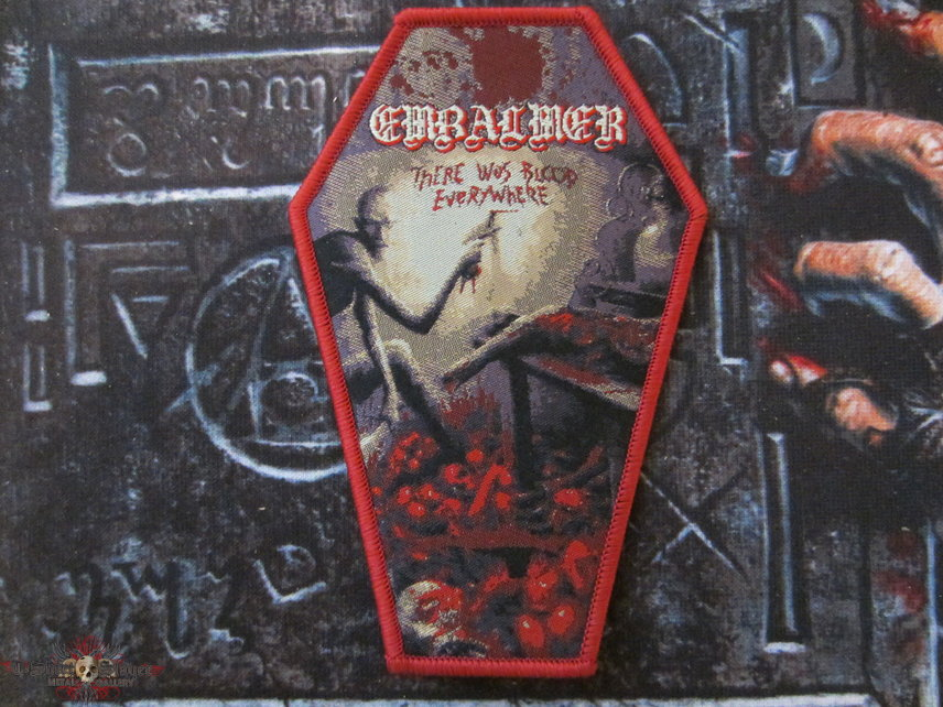 Embalmer - There Was Blood Everywhere Patch