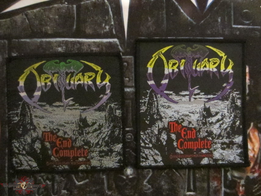Obituary - The End Complete Patches