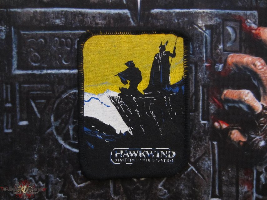 Hawkwind - Masters Of The Universe Patch