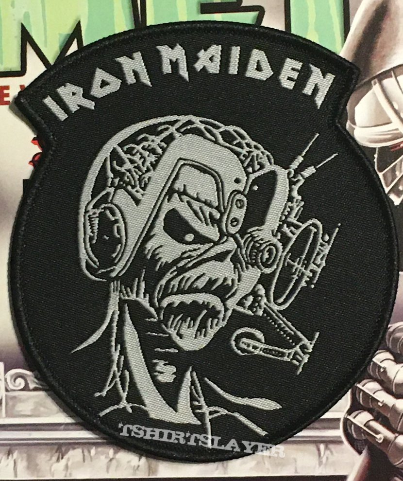 Iron Maiden Woven Patch Set