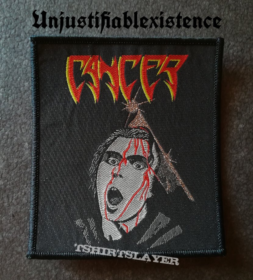 Cancer - To The Gory End Patch