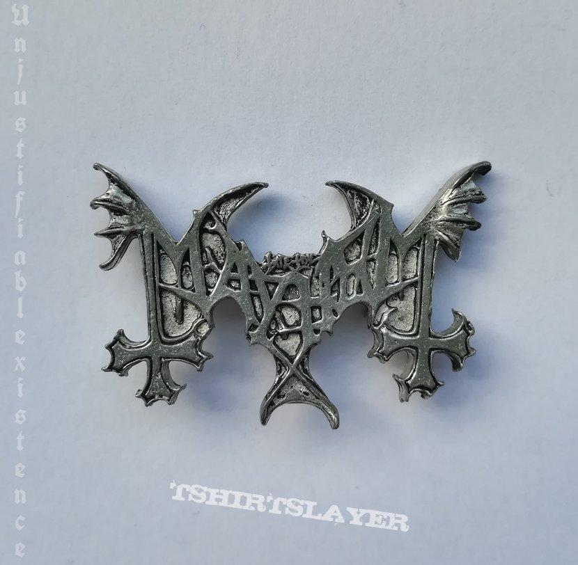 Mayhem - Logo Pin