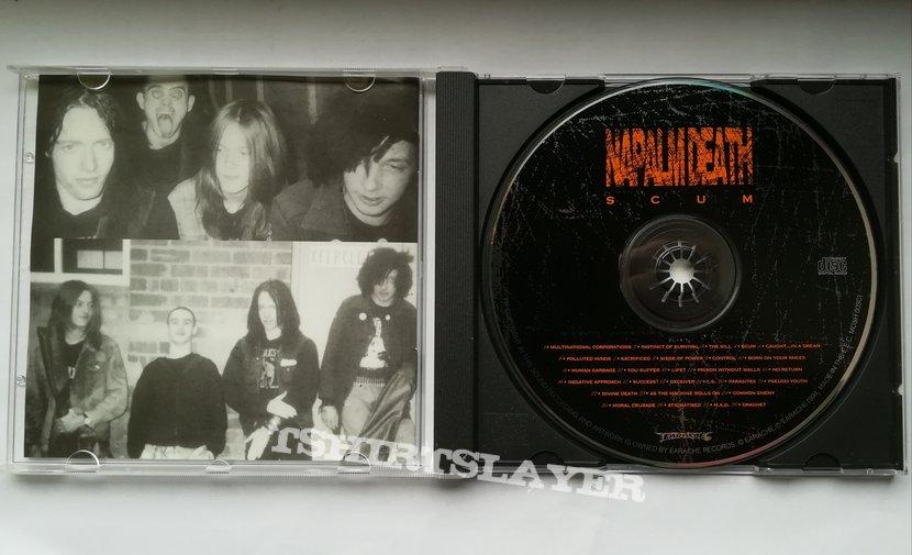 Napalm Death - Scum 1994 (CD)