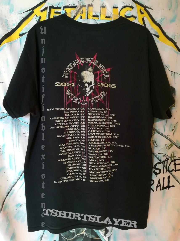 Slipknot Prepare For Hell Shirt Tshirtslayer Tshirt And