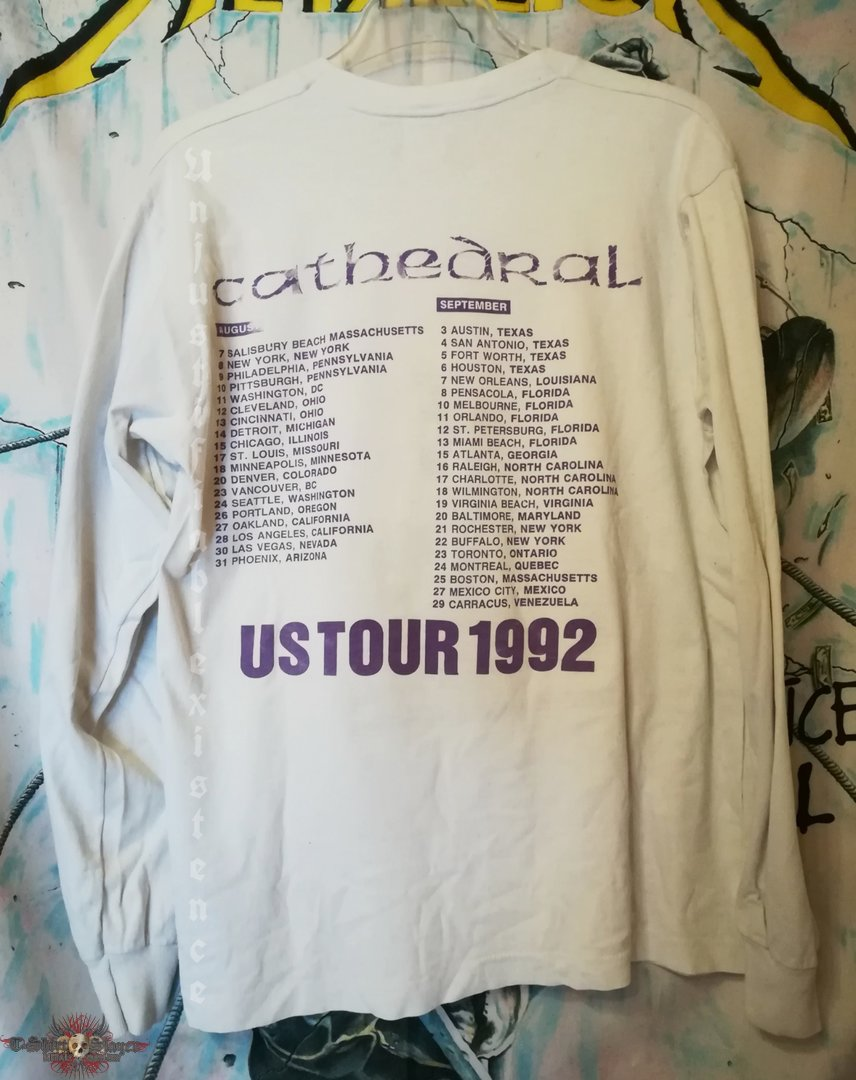 Cathedral - Never Lasting Love Tour 1992 Longsleeve