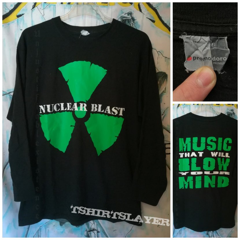 Nuclear Blast 'Music That Will Blow Your Mind' L/S Shirt