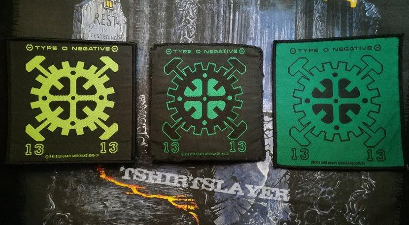 Type O Negative - Gears (1313) Patch
