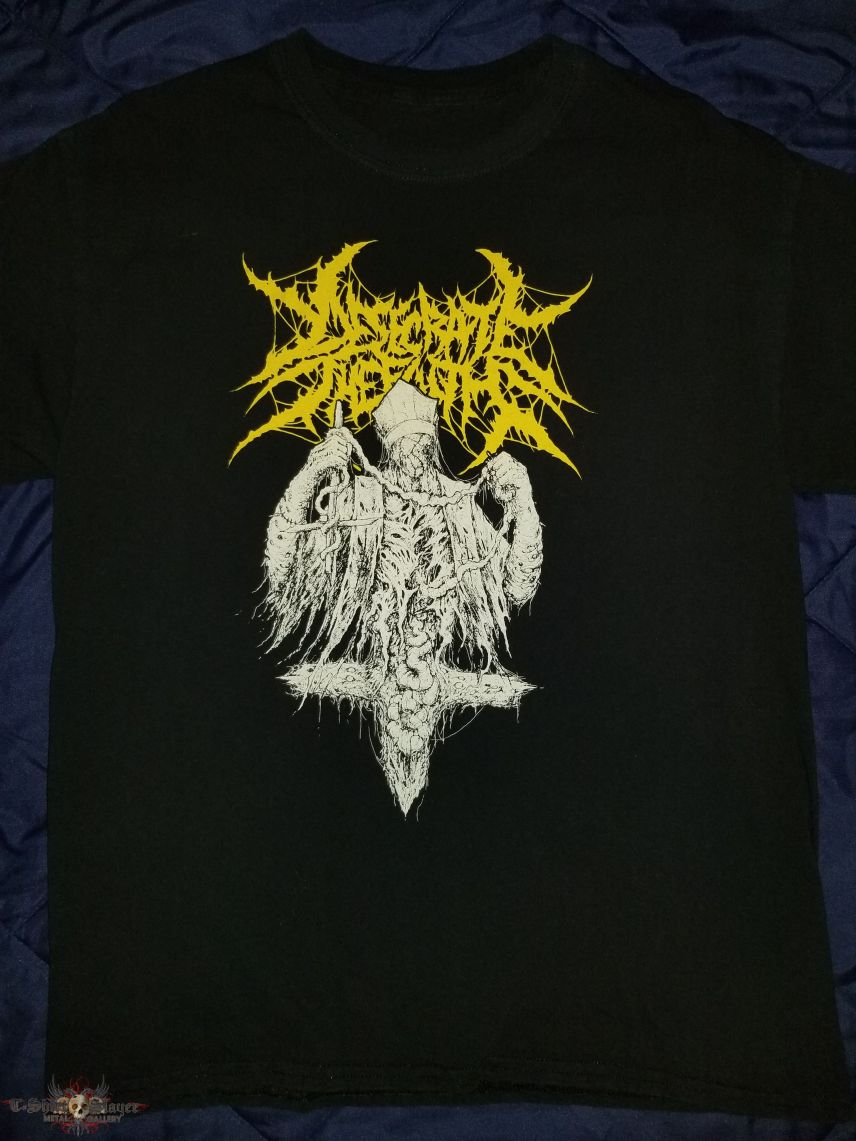 Desecrate The Faith Feasting On The Innards Of Salvation T-Shirt