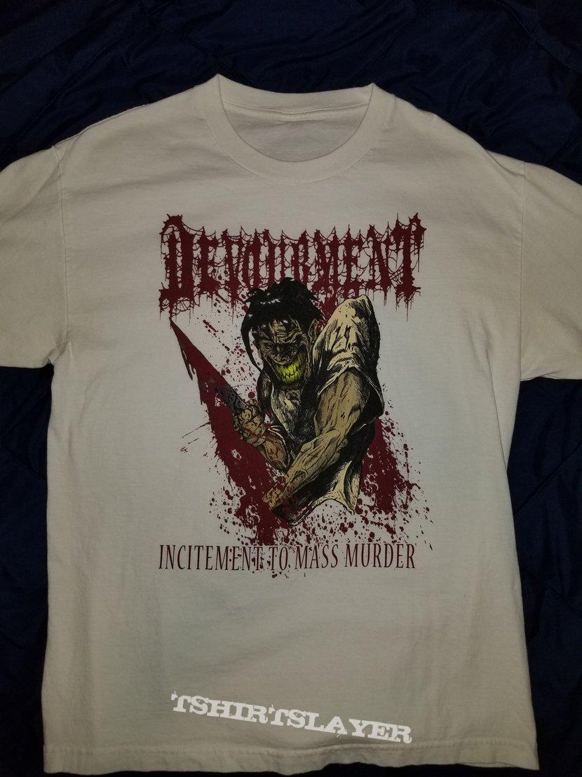 Devourment Incitement To Mass Murder T-Shirt