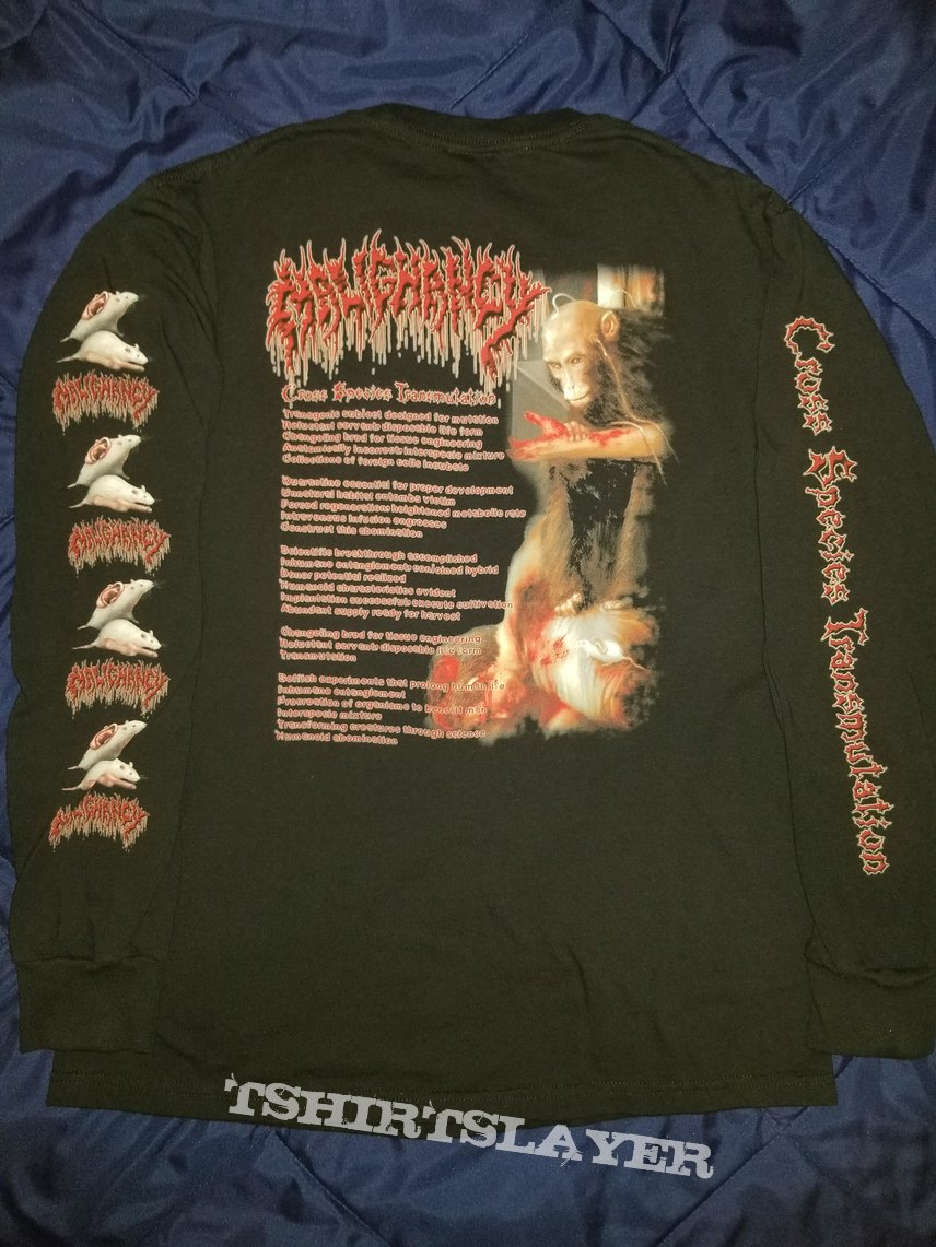 Malignancy Cross Species Transmutation Long Sleeve T-Shirt