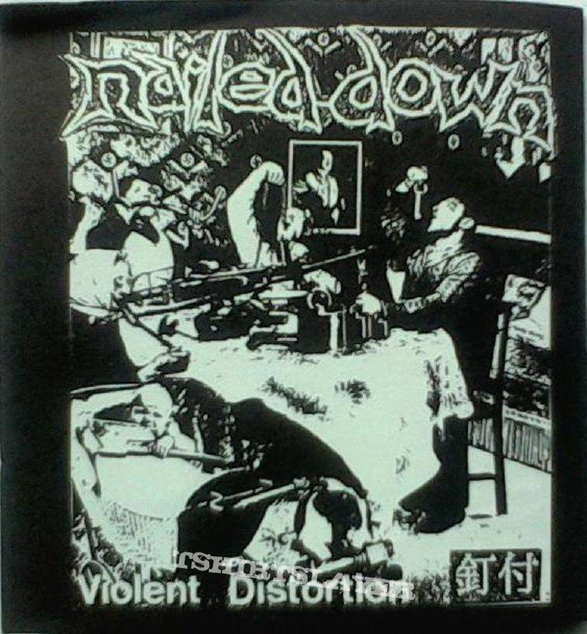 "NAILED DOWN - Violent Distortion (3""CD)"