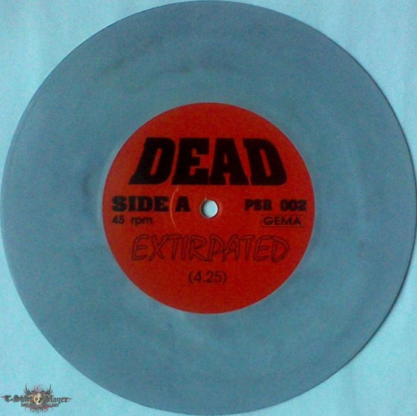 """DEAD - Defeat remains (7"""", lim. 500)"""