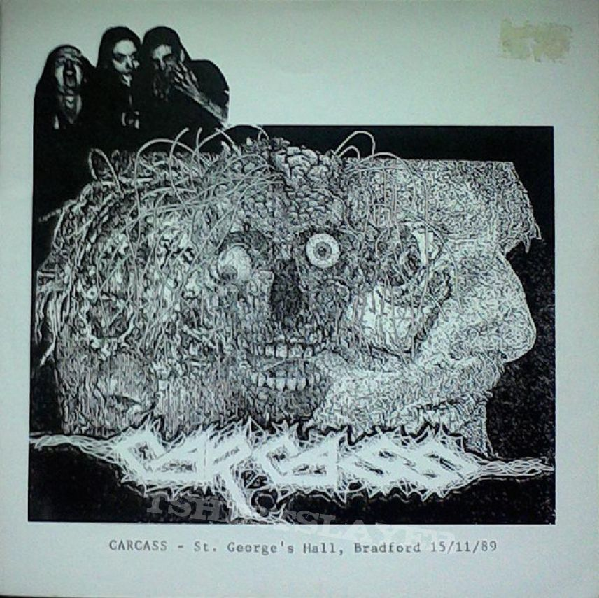 "CARCASS - St. George's Hall, Bradford 15/11/89 (7"" live EP)"