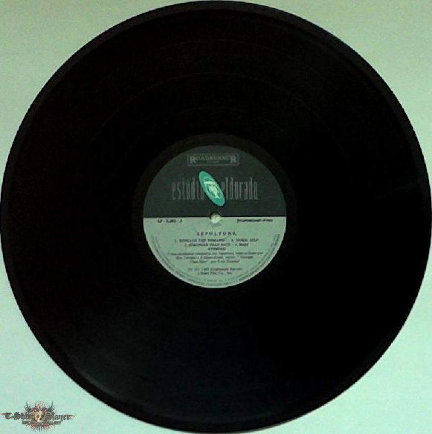SEPULTURA - Beneath the Remains (LP, Brazilian pressing)