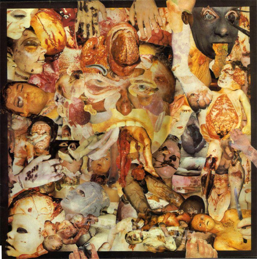 CARCASS - Reek of Putrefaction (LP, 1st pressing)
