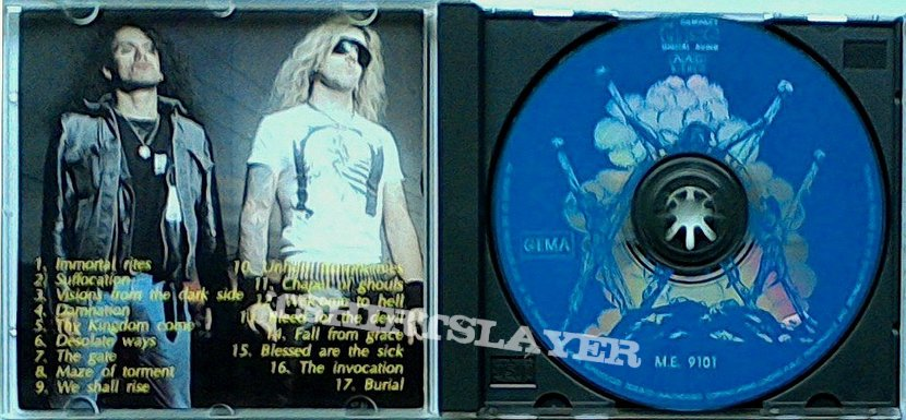 MORBID ANGEL - Blessed are the Boots... (CD, bootleg)