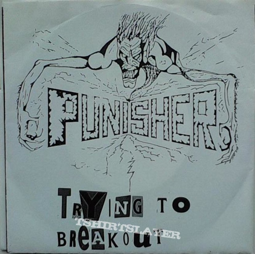 """AGATHOCLES / PUNISHER - Is it really mine / Trying to break out (7"""" split EP)"""