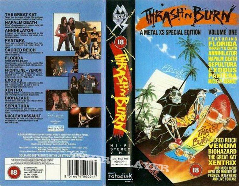 V/A - Thrash'n'burn (VHS mag)