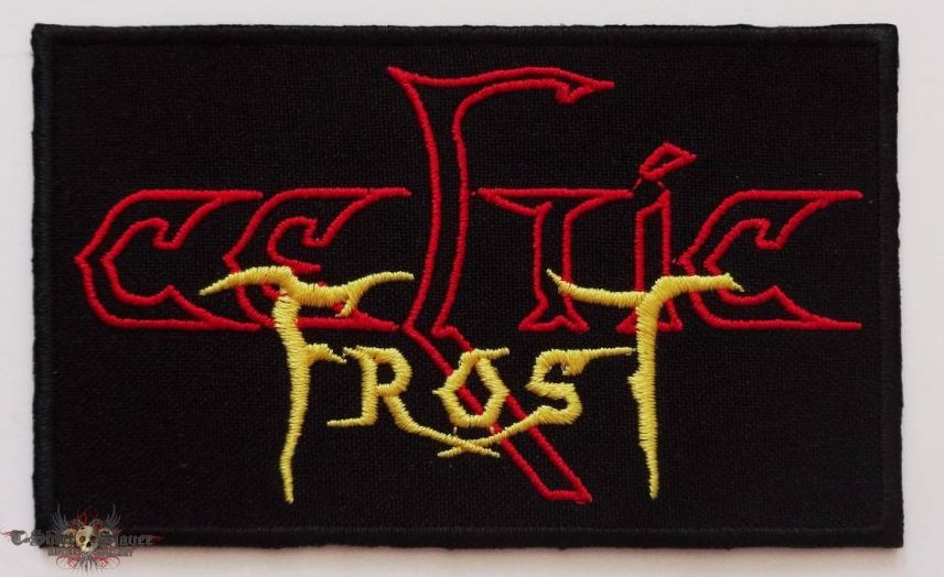 CELTIC FROST - Logo (embroidered)