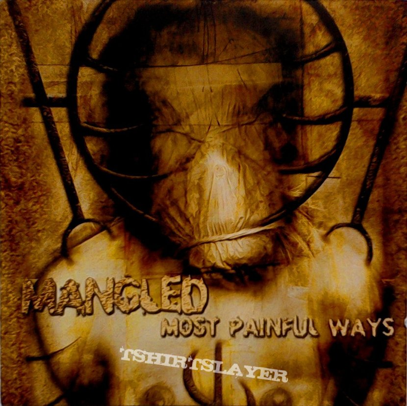 MANGLED - Most painful Ways (CD, orig. press.)