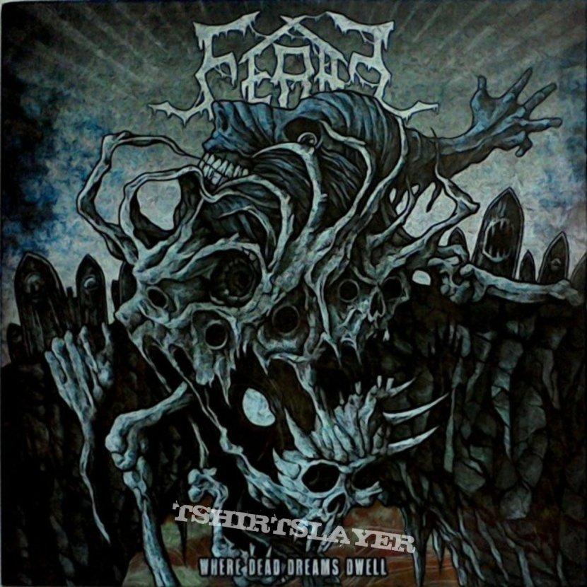 FERAL - Where dead Dreams dwell (LP, blue vinyl)