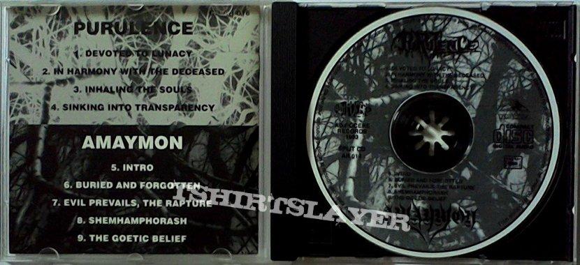 PURULENCE / AMAYMON - Purulence / Amaymon (split CD)