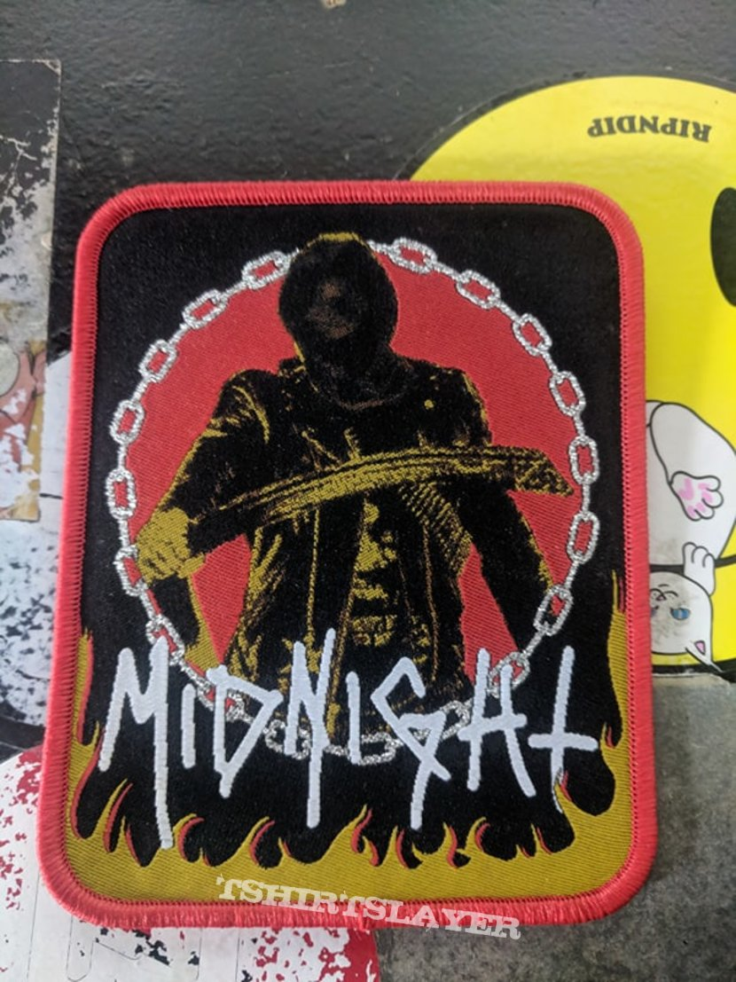 Midnight Woven Patch